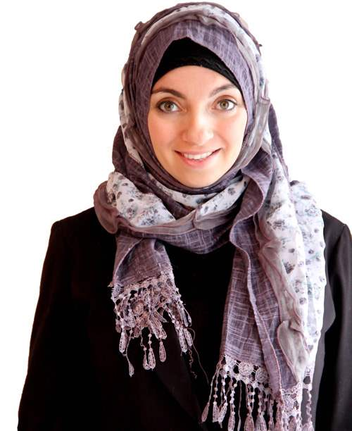 Diamond Patchwork Patchwork Hijab