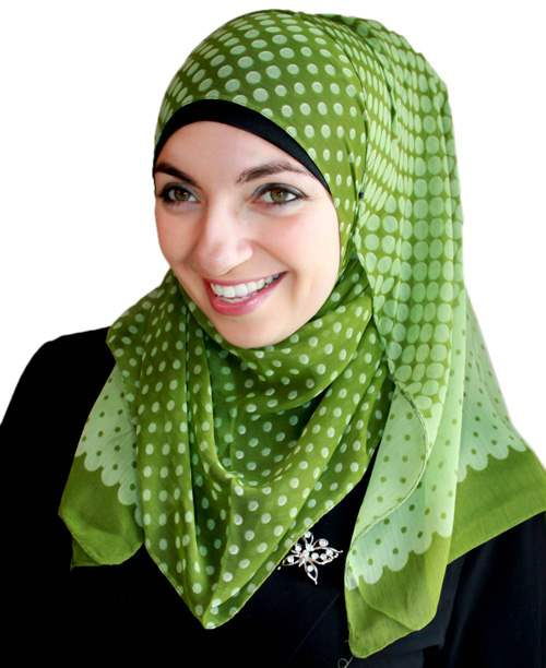 Fair-and-Square Printed Hijab