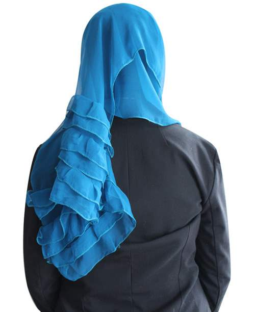 Solid Two Tone Solid Hijab