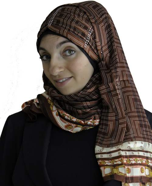 Turban Hijab- Stripes