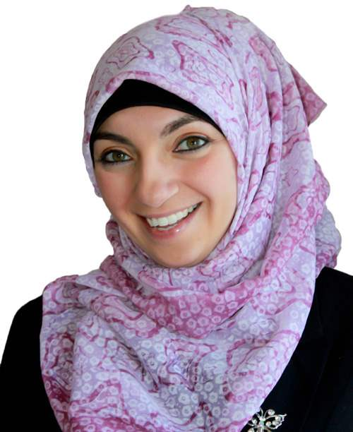 Retro Print Turkish Hijab